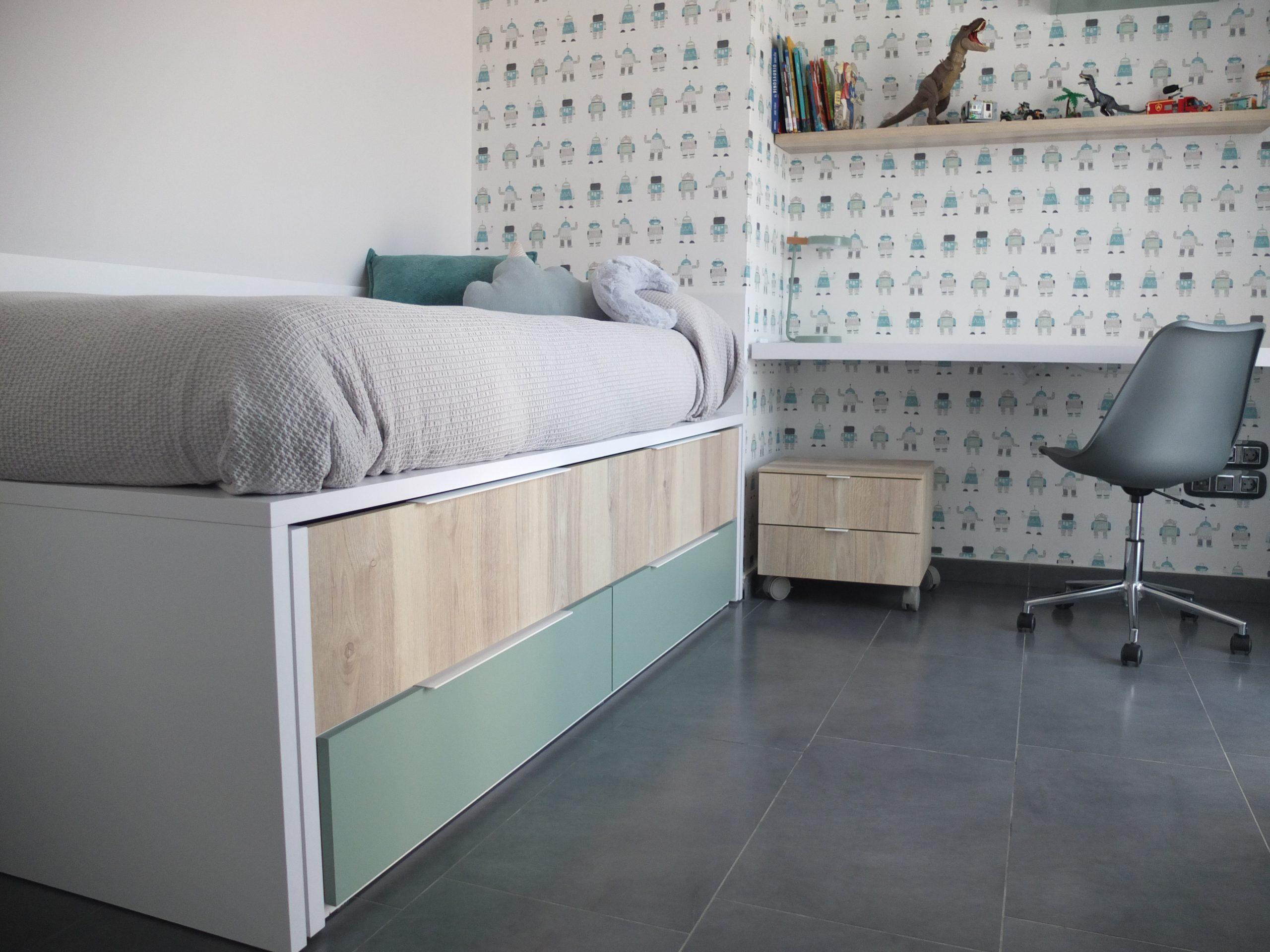 Dormitorio juvenil Tegarmobel
